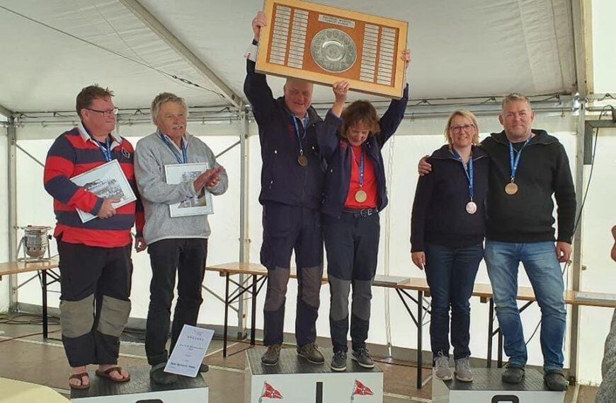 Sven Naumann holt sich den Vizemeistertitel in der Conger