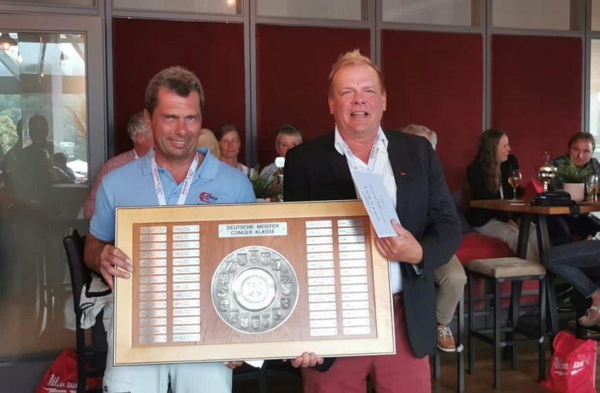 Thomas Gote ist Deutscher Meister in der Conger